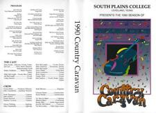 VHS: 1990 SEASON COUNTRY CARAVAN SOUTH PLAINS COLLEGE  LEVELLAND, TEXAS#