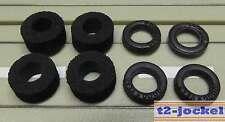 Für Slotcar Modellbahn -- Reifenset für G-Plus/AFX Motor, kostenloser Versand