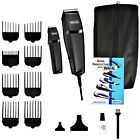 Wahl Professional Barber Machine Hair Cutting Kit Clipper Haircut Trimmer Set