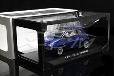 Diecast Car Model 1:18 Fiat 500 Lounge (Blue) + GIFT!!!!!!