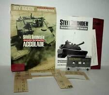 STEEL THUNDER AMERICAN BATTLE TANK SIMULATION USATO COMMODORE 64 USA DM1 41329