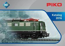 Piko 99506 Gesamtkatalog Spur H0 2016 deutsch - NEU