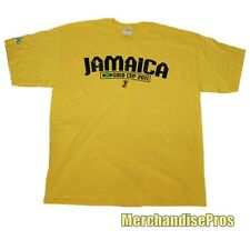 MEN'S 'JAMAICA' CONCACAF GOLD CUP 2011 SOCCER TEE T-SHIRT LARGE NEW!