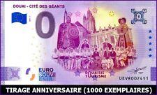 UE VR-1 / DOUAI - CITE DES GEANTS / BILLET SOUVENIR 0 € / 0 € BANKNOTE 2021-1*