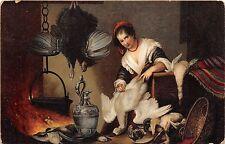 B43475 Genova Cuciniera Capuccino  painting postcard