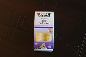 ZYMOX Ear Solution Hydrocortisone 0.5% Inflammation Relief 1.25 oz 37ml NEW!