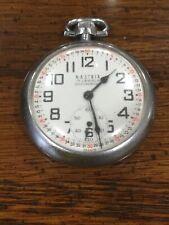 Antique Nastrix Monroe 17 Jewel pocket watch made In France