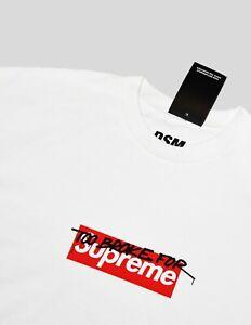 DSM Too Broke For Supreme Box Logo T shirt Off White New York Palace Kith