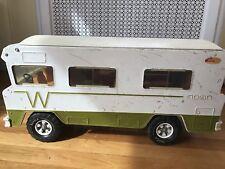 vtg 1973 Tonka WINNEBAGO MR-970 INDIAN MOTORHOME camper van RV truck metal steel