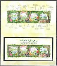 Singapore 2013  Birds, Orchids, Butterfly, Collector Sheet on Folder - MNH (**)