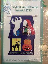 """Halloween House Flag - 28"""" X 43""""!  MAKE AN OFFER!"""