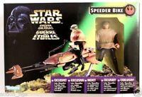 STAR WARS POWER OF THE FORCE SPEEDER BIKE WITH LUKE SKYWALKER IN ENDOR GEAR