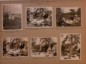 1930's ORIGINAL PHOTO PICNIC PINE FOREST HELL FIRE CLUB MOUNTAINS REDFORD