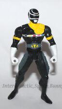 Bandai Power Rangers In Space Black Ranger Battlized Action Figure
