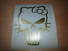 sticker autocollant punisher hello kitty skull crane pirate decal