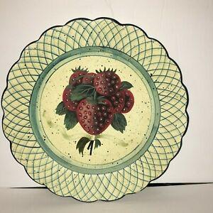 Raymond Waites Toyo Trading Company Decorative Plate Strawberries