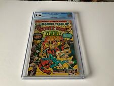 MARVEL TEAM-UP 40 CGC 9.6 WHITE PAGES SONS OF THE TIGER SPIDER-MAN MARVEL COMICS