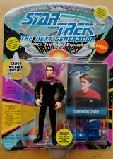 Star Trek The Next Generation 80s WESLEY CRUSHER Playmates Action Figure on Card
