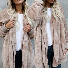 Women's Long Sleeve Oversized Loose Knitted Sweater Jumper Cardigan Outwear WL