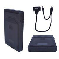 USB 2.0 zu SATA 22pin Adapter Kabel  für 2,5 HDD Festplatte Disk