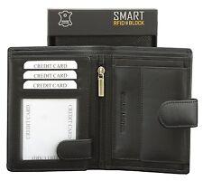 Koruma cartera caballero RFID NFC - Protección de tarjeta sin contacto (negro)