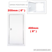 Access Panel Fit Hole 200 x 400 mm  White Inspection Hatch Door With Pull Handle
