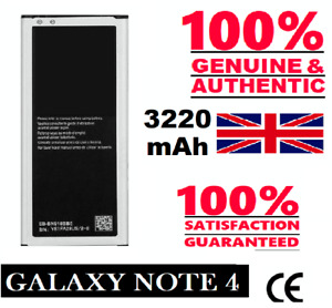 Genuine Replacement Battery For Galaxy Note 4 Four SM-N910C 3220mAh New