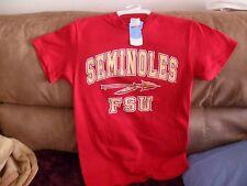 NCAA FLORIDA STATE SEMINOLES TSHIRT SZ.SM/S RED SHIRT FL.ST.NOLES SZ.SMALL
