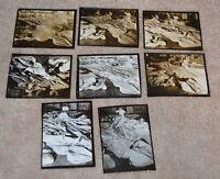 SUPERB MARGARET BOURKE-WHITE 8 PHOTOGRAPHS & 13 NEGATIVES!!!!!!!! 1940'S RARE
