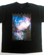 Element Youth T-shirt L large black forces of nature skate moon universe sports