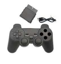3 in 1 Wireless GAME CONTROLLER Maniglia Compatibile per PS2/PS3/PC 2.4Ghz UK
