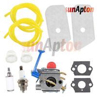 Carburetor Tune Up Kit For Husqvarna 128 C R 128CD 128L 128LD 128LDX Air Filter