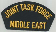 JOINT TASK FORCE  MIDDLE EAST PATCH