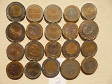 Lot of 20 Bi-metallic Mixed World Coins - Lot 2