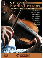 Great Fiddle Lessons Bluegrass Old-Time Styles Learn to Play Violin MUSIC DVD