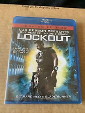 Lockout 2012 Region Free Uncut Unrated Blu Ray NEW & SEALED Luc Besson US Import
