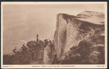 Sussex Postcard - Beachy Head Lighthouse, Eastbourne    RS3282