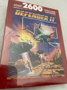 Atari 2600 VCS Original Sealed Defender 2 Boxed Cartridge Video Game 1987