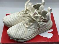 Puma Womens Enzo Street White Running Shoes Sneakers 6.5 Medium (M) 192440 03