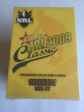 2009 Select NRL Classic Complete Common Base set of 195
