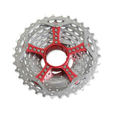 SRAM PG-990 9 Speed MTB Bike Bicycle Cassette Redwin Red 11-34