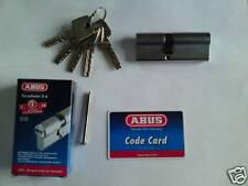 cylindre,canon barillet haute sûreté ABUS 40X55 + 5 clés réversibles micropoints
