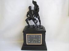 Footballers Molnija Vintage USSR Soviet Kasli Metal Cast-Iron Table Clock Molnia