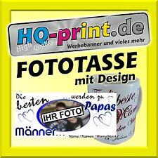 Fototasse Design Bester Papa Geschenkidee Fotogeschenk Vatertag Fotobecher Mann