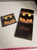 RARE OPEN 1989 PRICE BATMAN OST SOUNDTRACK CD LONG BOX WARNER BROS DC COMICS