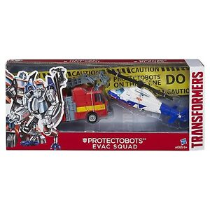 Transformers Asia Kids Day Protectobots Evac Squad 2-Pack