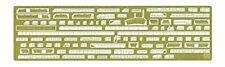 Hasegawa 1/350 Escort Carrier USS Gambier Bay Etching Parts Basic Model Kit NEW