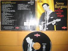 CD The Arkansas Wild Man Sonny Burgess - Rock & Roll Rockabilly Jerry Lee Lewis