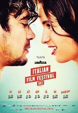 LAVAZZA ITALIAN FILM FESTIVAL AUSTRALIA POSTER RICCARDO SCAMARCIO