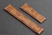 BAUME & MERCIER Band/Leather Strap 18x15mm Crocodile
